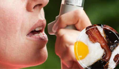 喘息の人は避けたい9つの食べ物