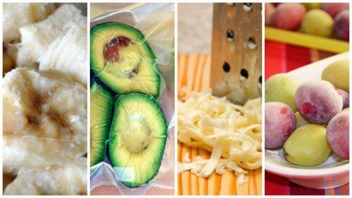 あっと驚く冷凍できちゃう食品9選