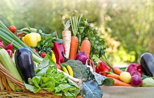 新鮮な野菜で減量