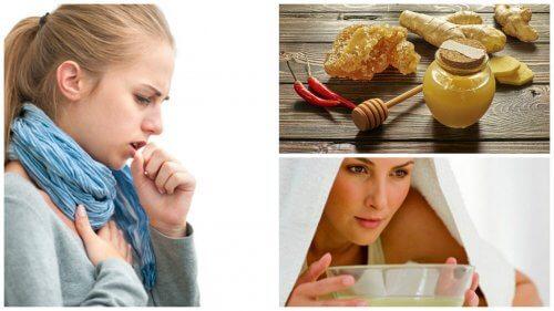 咳をしずめ、のどをスッキリさせる5つの自家製去痰薬の作り方