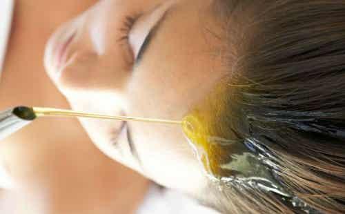 植物性オイルで髪に潤いを与えましょう