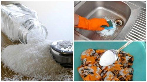 塩を使ったエコなお掃除法7選