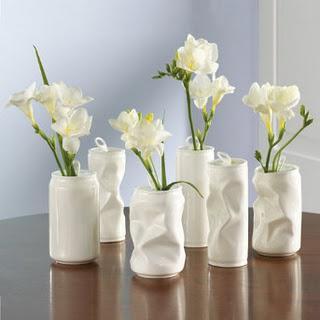 空き缶花瓶