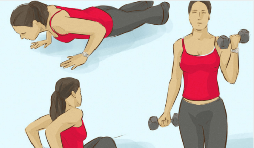 腕の筋肉を鍛える3つのエクササイズ