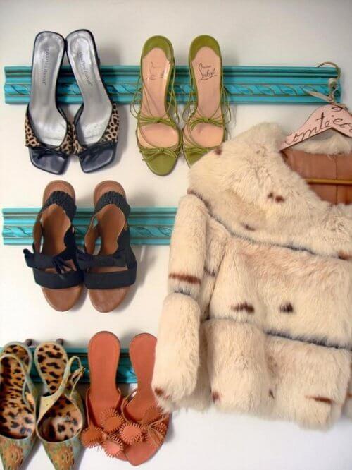 靴の収納-壁掛け収納
