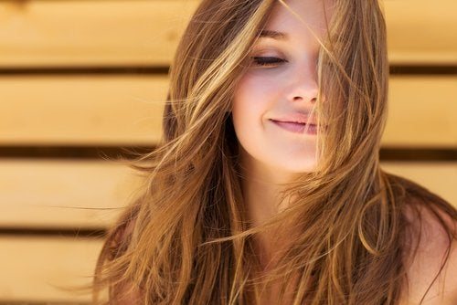 髪を健康に保つ