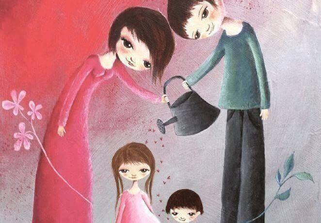 子育てとは人を作り上げる事ではなく、子供に自分というものを作らせてあげる事