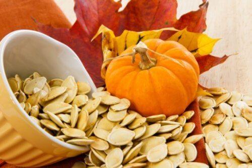 かぼちゃの種の健康効果