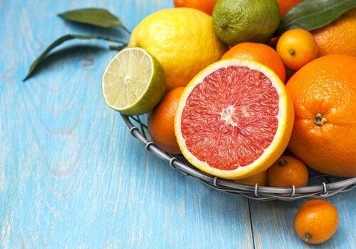 色々な柑橘類