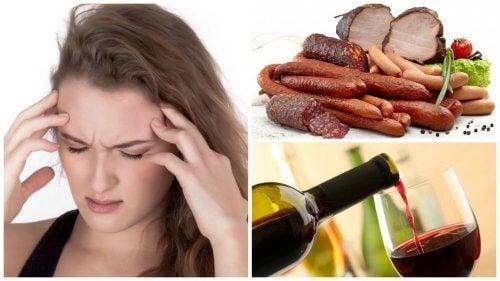 片頭痛の原因となる食べ物や飲み物9つ