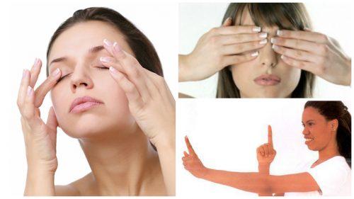 視力強化と眼精疲労に効果のあるエクササイズ