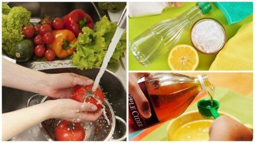 野菜と果物の殺菌・消毒方法7選