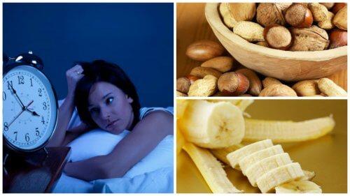 不眠症を自然に治す食品8選