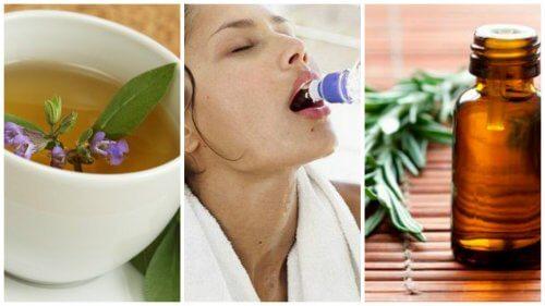 多汗症を緩和する7つの方法