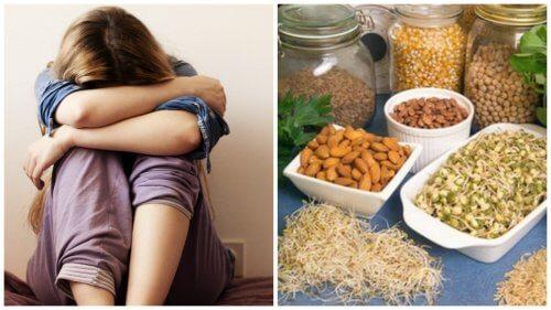 栄養不足が原因?/うつ病に効果的な栄養素6選
