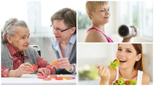 認知症のリスクを下げる6つの健康習慣