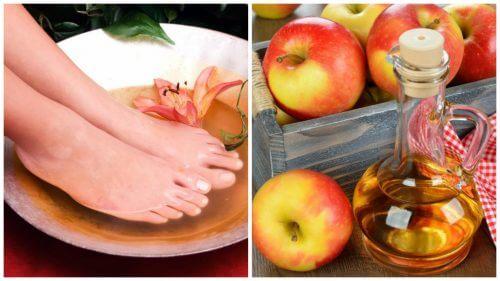 足をお酢に浸けると得られる6つの効果