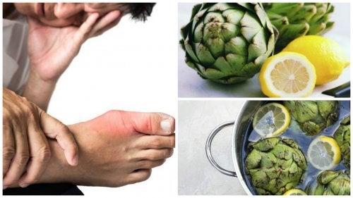アーティチョークとレモンで身体から尿酸を取り除く