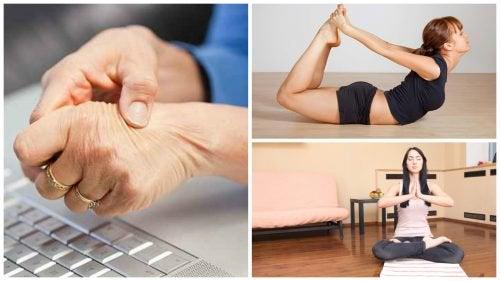 手根管症候群による痛みを和らげるヨガポーズ5選