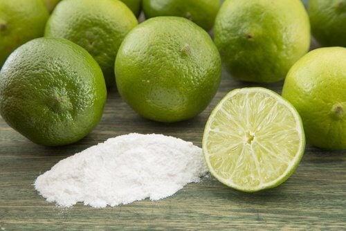 多汗症に効く重曹とレモン