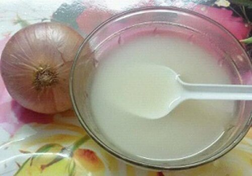 onion and vinegar remedy