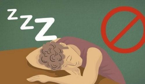 睡眠不足による悪影響7種