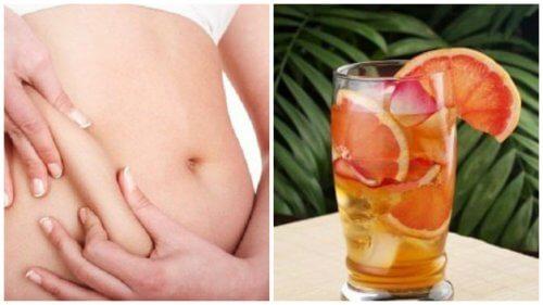 緑茶、グレープフルーツ、ミントのドリンクで新陳代謝をアップする方法