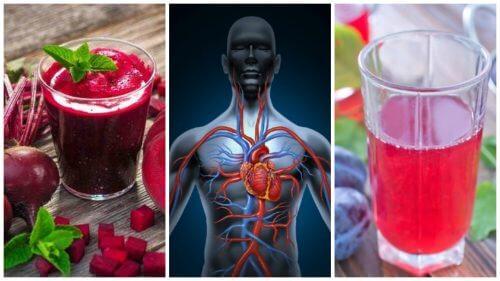 血液の循環を改善する5つのナチュラルドリンク