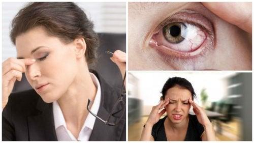 視覚的ストレスを感じませんか?/8つの症状をチェックしましょう