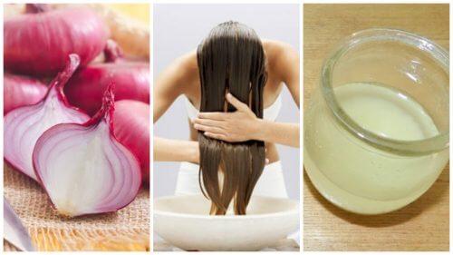 hair treatment with onion
