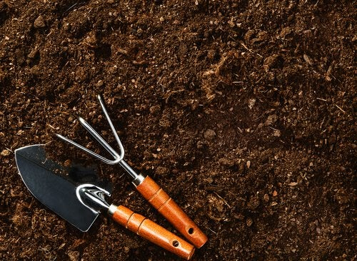 soil and tools