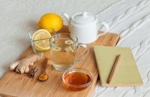 スパイスの入ったお茶で新陳代謝を活発に!