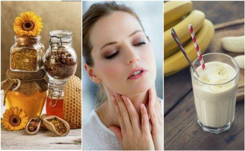 喉の乾燥を和らげる6つの自然療法