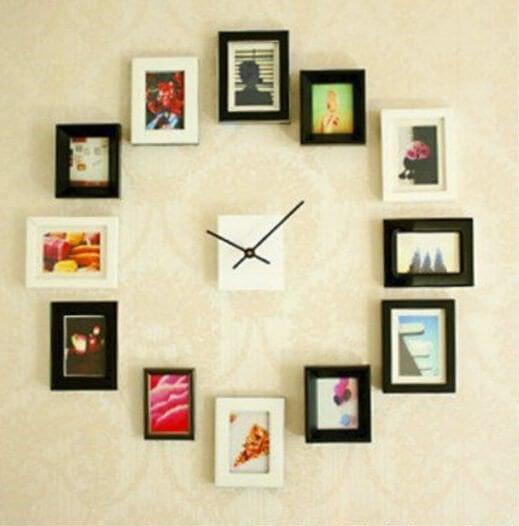 写真で時計を作る