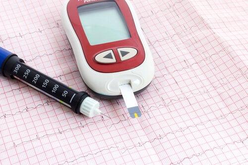 血糖値を計る測定器のようなもの