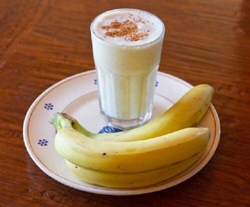 バナナとスムージー