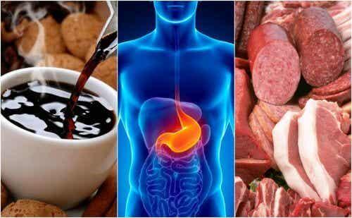 胸やけを起こす8つの食べ物