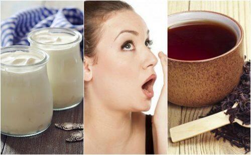 口臭予防に効果的な7つの自然療法