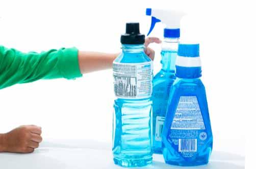 プラスチックの容器