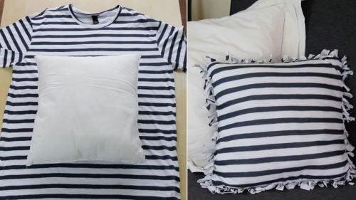 コットンTシャツクッション