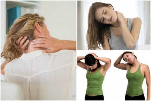 首の痛みに効く運動6種