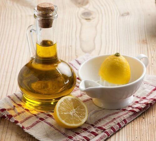 レモンとオリーブオイル