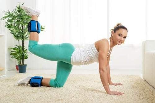 臀部の運動