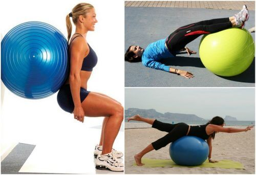 エクササイズボールを使ってお尻を引き締める5つの方法