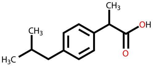 イブプロフェン 化学式