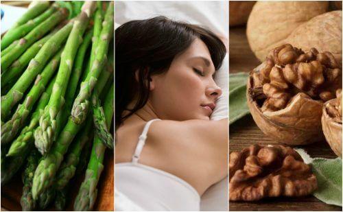 安眠を促すメラトニンが豊富な9つの食べ物