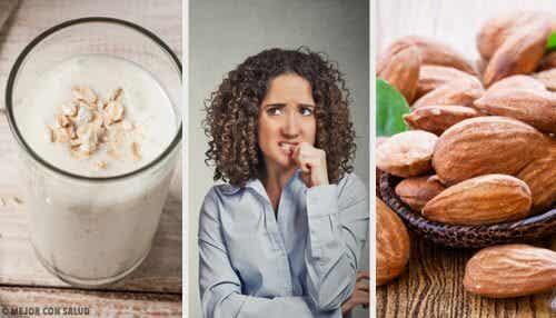 不安感を自然に緩和する食品10選
