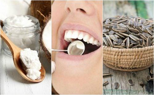 歯垢を除去する6つの自然療法