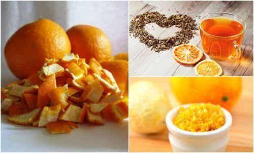 オレンジの皮の活用法