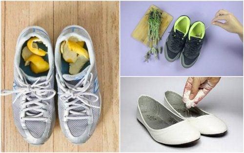 靴の嫌な臭いを防ぐ5つの方法